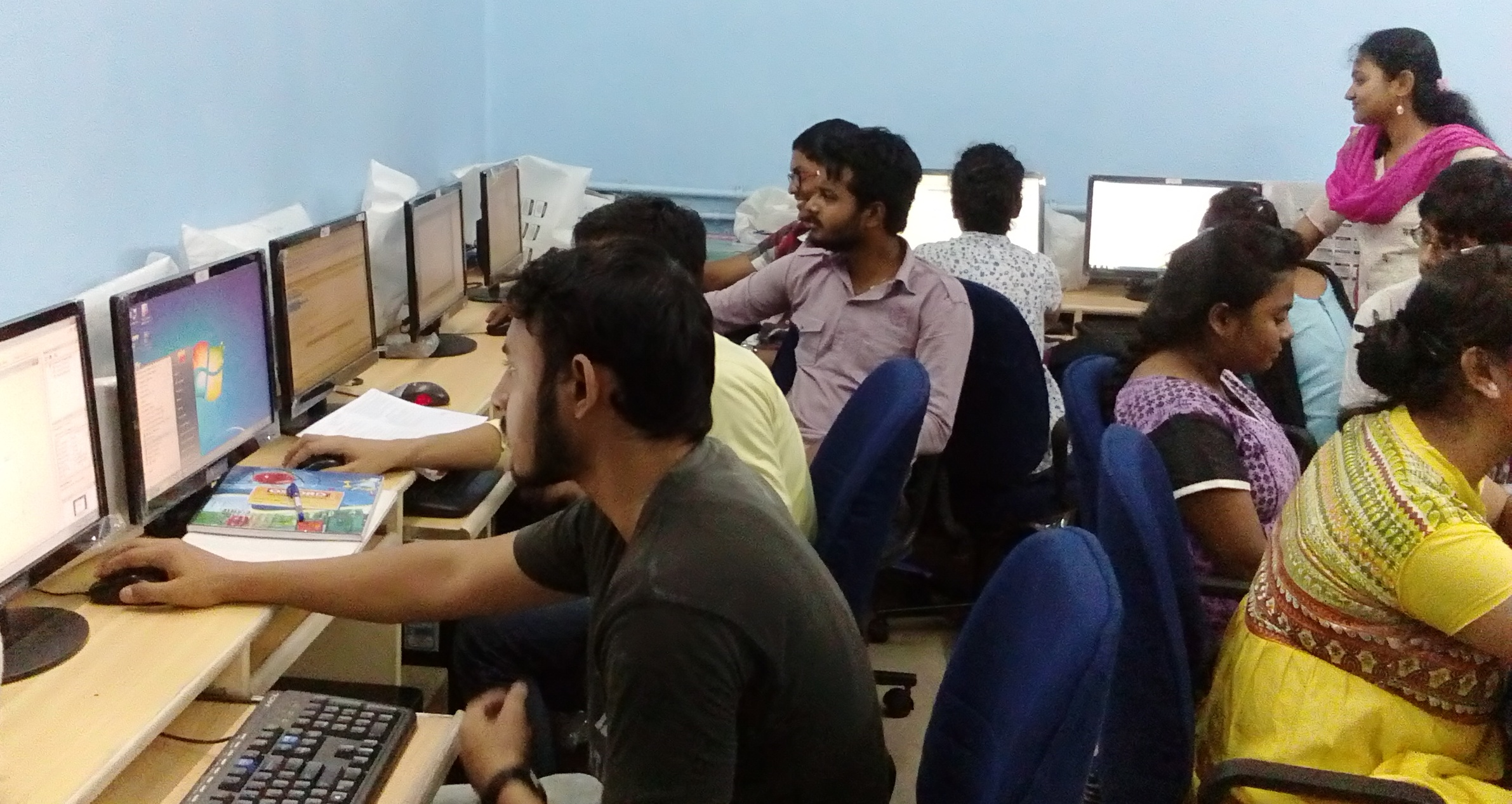 Practical Class had being taken by faculty of computer science