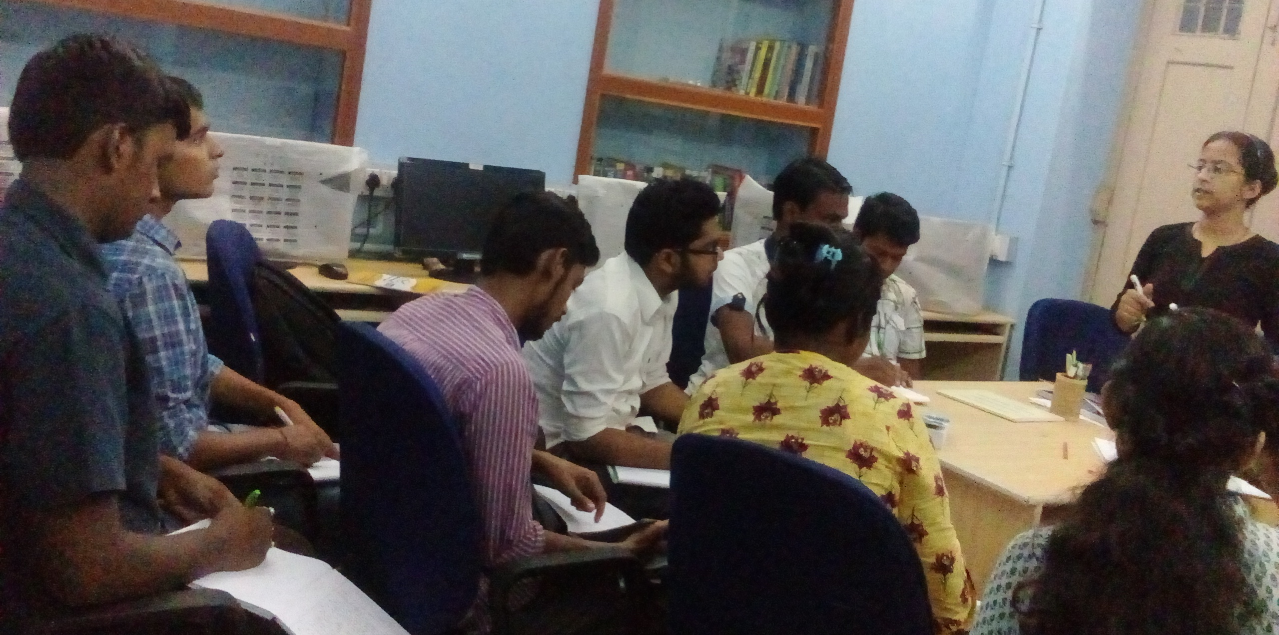 Theory class had being taken by faculty of computer science