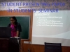 Paper Presentation in the Students' Seminar by one of our students